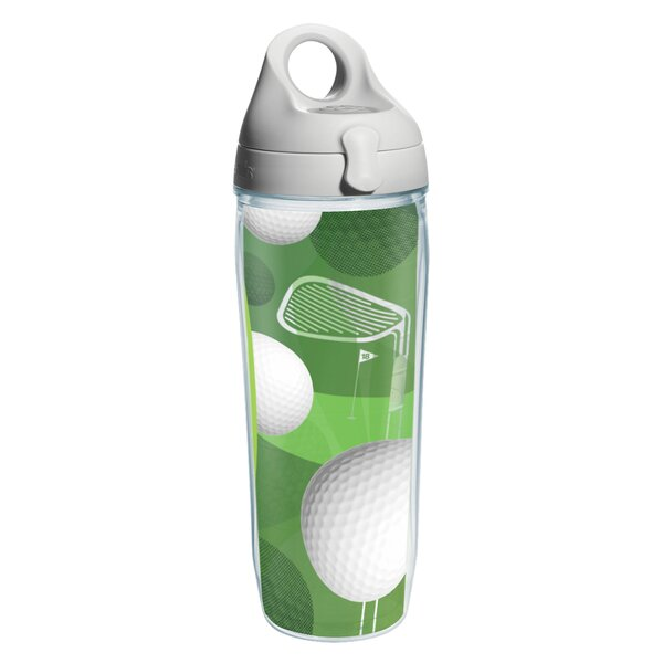 Game On Golf Balls Plastic Water Bottle by Tervis Tumbler