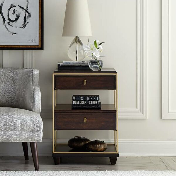 Virage 2 Drawer Nightstand by Stanley Furniture