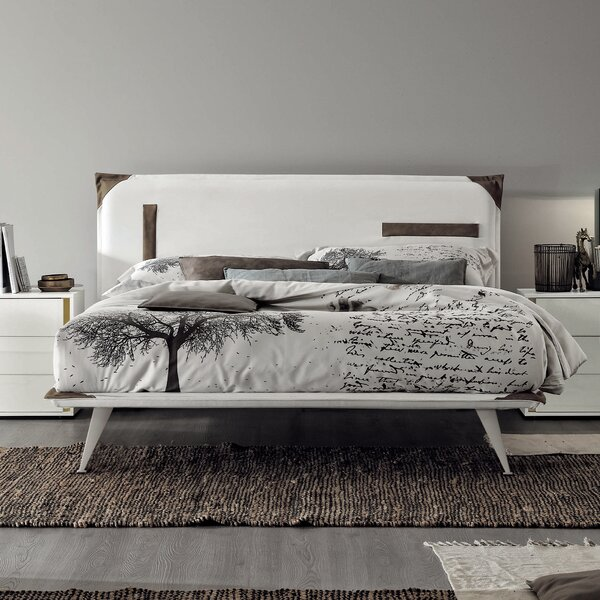 Tasca Upholstered Standard Bed by YumanMod