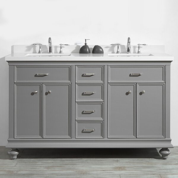 Weisner 60 Bathroom Vanity Set by Alcott Hill
