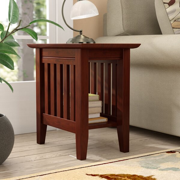 Caples End Table by Three Posts