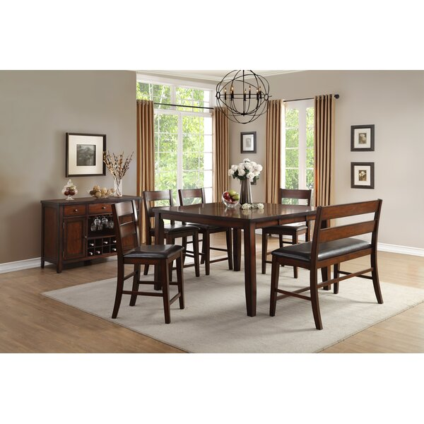 Dickens Counter Height Dining Table by Alcott Hill