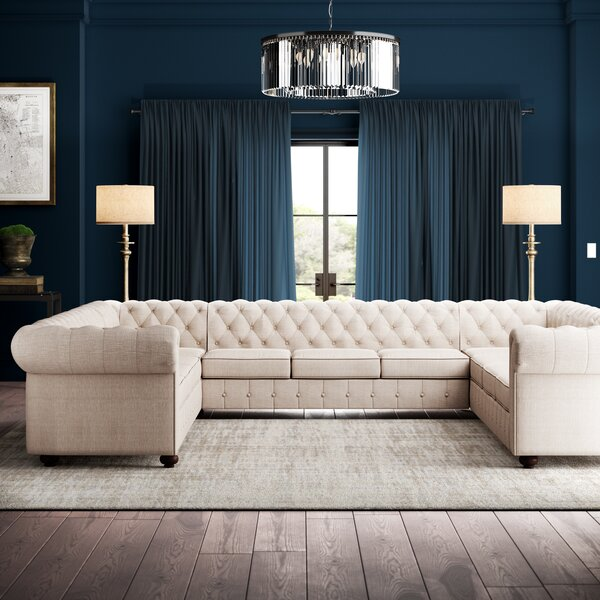 Best #1 Quitaqueb Symmetrical Sectional By Greyleigh Today Only Sale