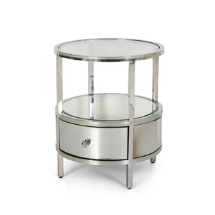Cameron End Table with Storage