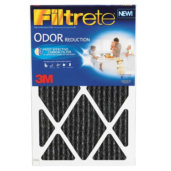 Home Odor Reduction Air Filter (Set of 4) by 3M
