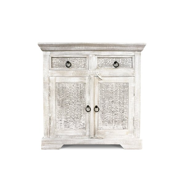 Greenberg 2 Drawer Accent Cabinet by Bungalow Rose