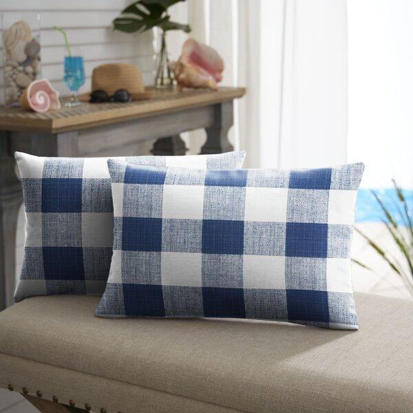 Bolding Buffalo Outdoor Lumbar Pillow (Set of 2) by Mozaic Company