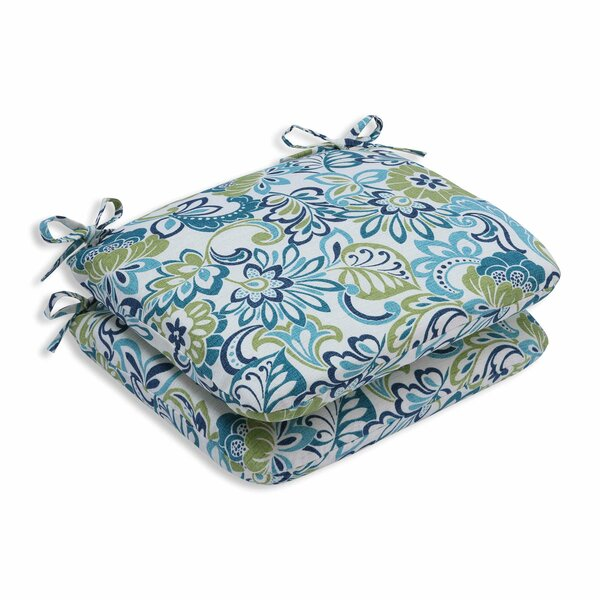 Indoor/Outdoor Floral Dining Chair Cushion (Set of 2) by Andover Mills