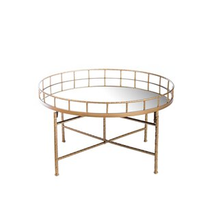Ariella Mirrored Coffee Table Statements by J