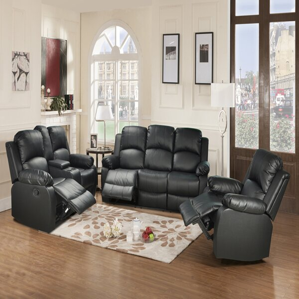 Neriman Faucette 3 Piece Reclining Living Room Set By Latitude Run