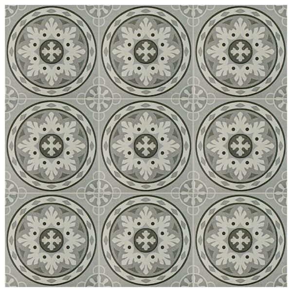 Colombia 9.75 x 9.75 Porcelain Field Tile in Gray by EliteTile