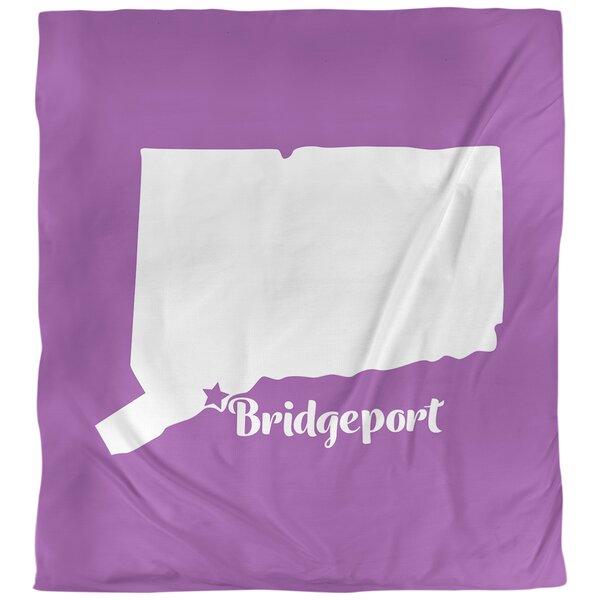 Bridgeport Connecticut Duvet Cover