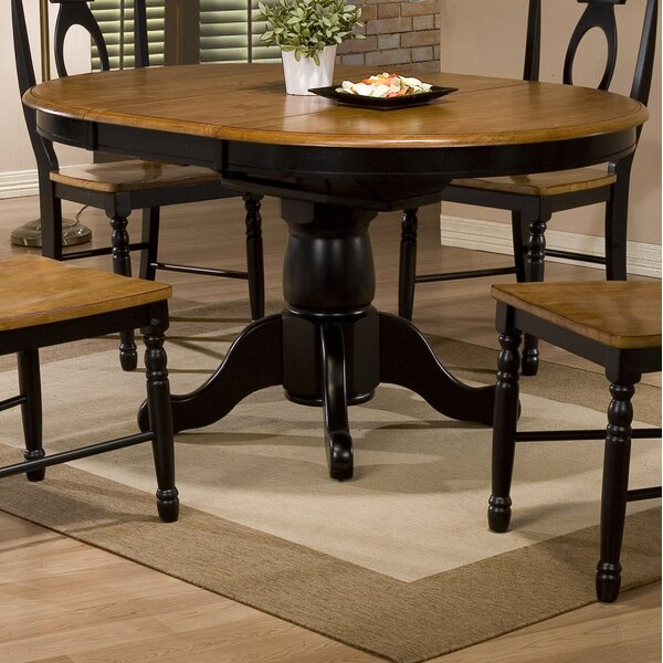 Modern Courtdale Extendable Dining Table By Three Posts Top Reviews