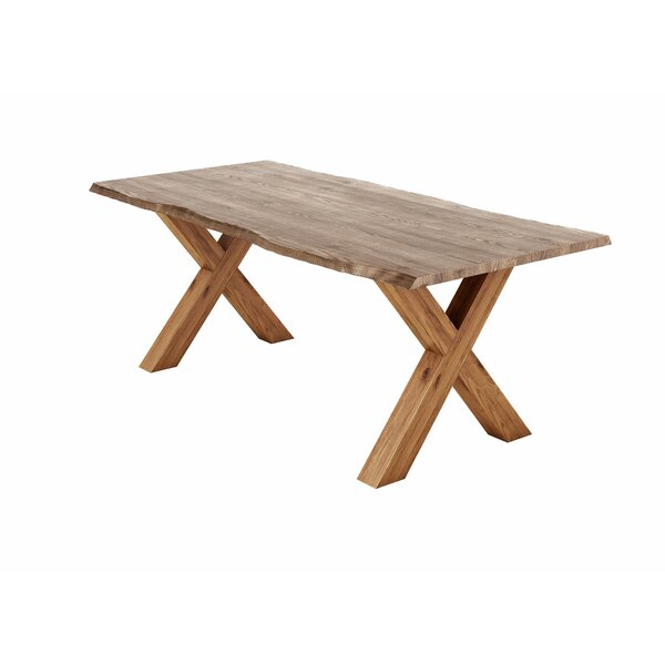 Alfreda Solid Oak Dining Table by Union Rustic Union Rustic