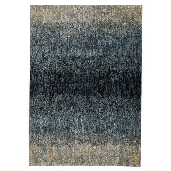 Malia Teal/Beige Area Rug by 17 Stories