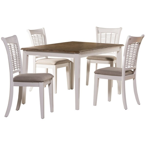 Silsden 5 Piece Dining Set by August Grove