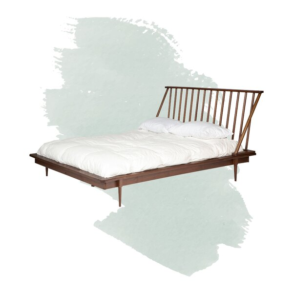 Dorinda Spindle Queen Platform Bed By Foundstone by Foundstone Spacial Price