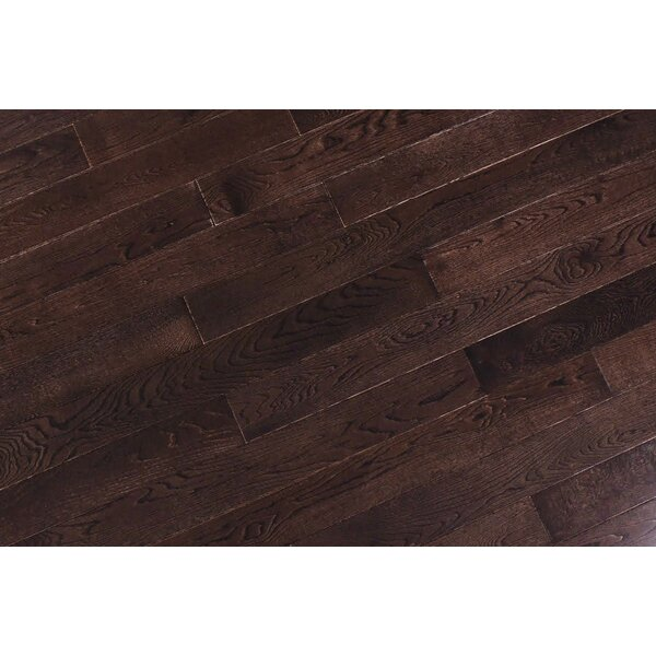 Alzamora 3.5 Solid Oak Hardwood Flooring in Brown by Albero Valley