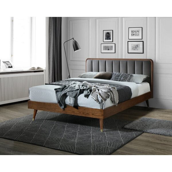Madge Full Upholstered Platform Bed by George Oliver