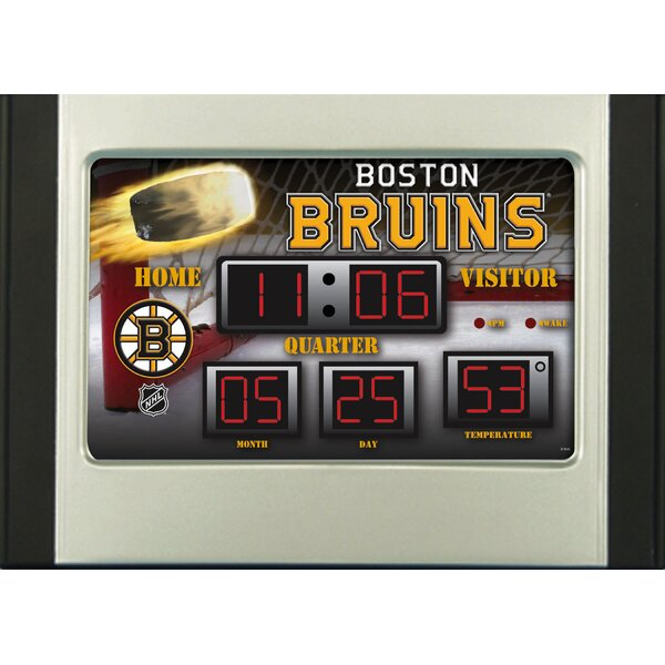 NHL Scoreboard Desk Clocks by Team Sports America