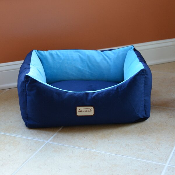 Cat Bed in Navy Blue and Sky Blue by Armarkat