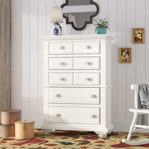 Morpeth 5 Drawer Chest by Three Posts