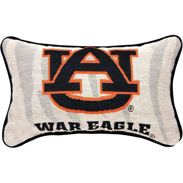 NCAA War Eagle Word Lumbar Pillow by Manual Woodworkers & Weavers