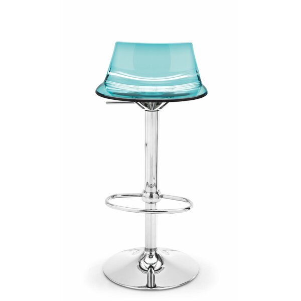 Elizabeth Street Adjustable Height Swivel Bar Stool by Orren Ellis