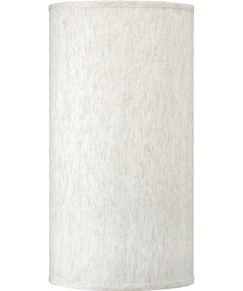 Linen Drum Wall Sconce Shade ( Screw On )
