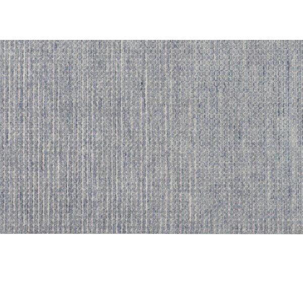 Pretoria Handmade Flatweave Wool Blue Area Rug