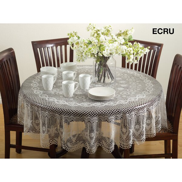 Yadav Vinyl Cutwork Tablecloth by August Grove