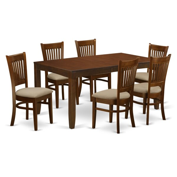 Smithers 7 Piece Dining Set by Charlton Home Charlton Home