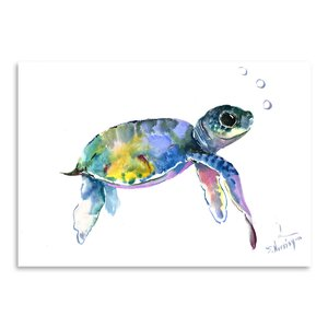 'Baby Sea Turtles 2' Graphic Art Print by East Urban Home