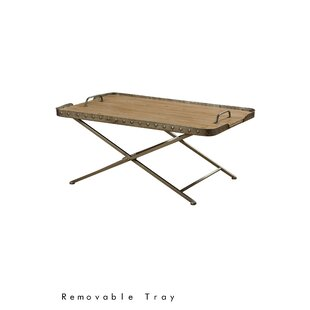 Tyrrel Coffee Table with Tray Top Gracie Oaks
