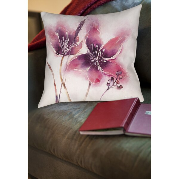 Sandberg Printed Throw Pillow by Latitude Run
