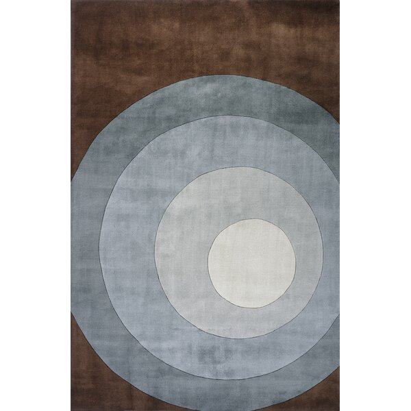 Rita Hand-Tufted Gray Area Rug by Wrought Studio
