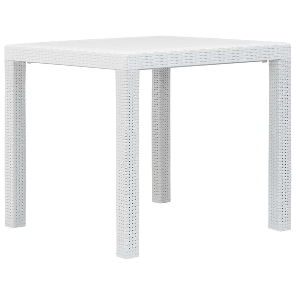 Luci Plastic Dining Table by Winston Porter