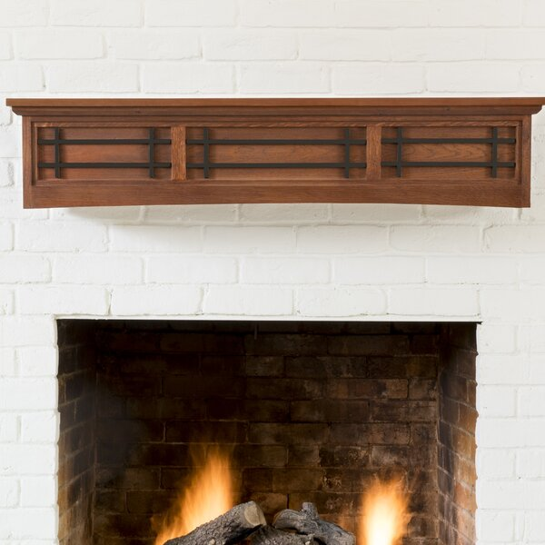 Belisario Fireplace Shelf Mantel by Ornamental Designs