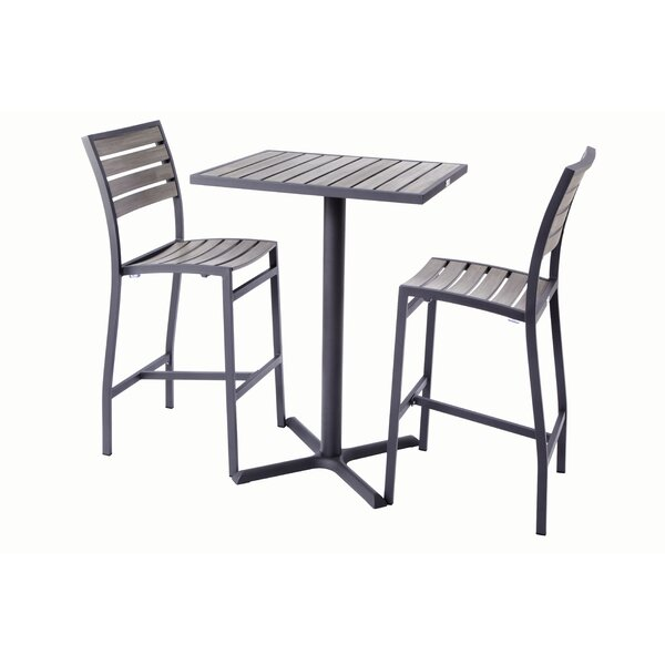 Madbury Road Bar Height 3 Piece Dining Set by Madbury Road
