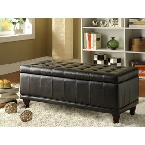 Gilberts Bi-Cast Vinyl Storage Bench by Darby Home Co
