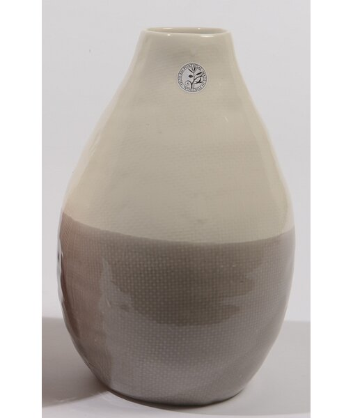 Tea Garden Hand Made Ceramic Vase by Northlight Seasonal