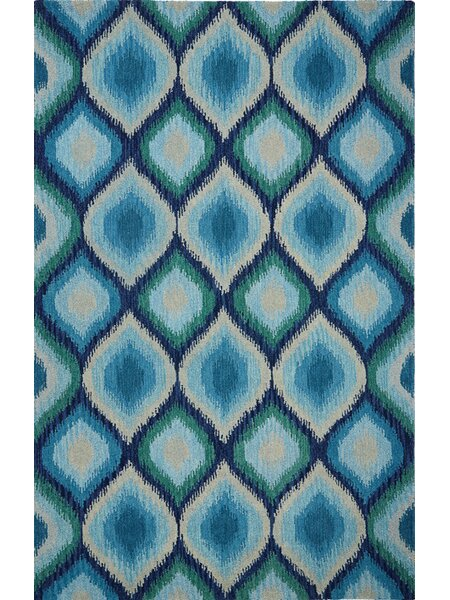 Overbeck Blue Area Rug by George Oliver