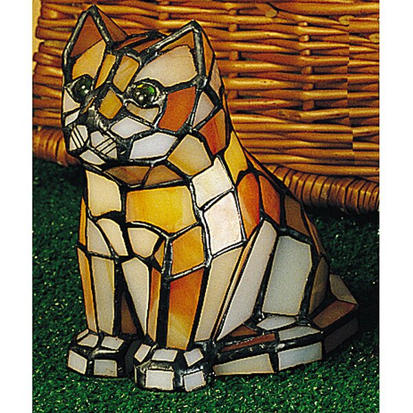 Cat Accent Table Lamp by Meyda Tiffany