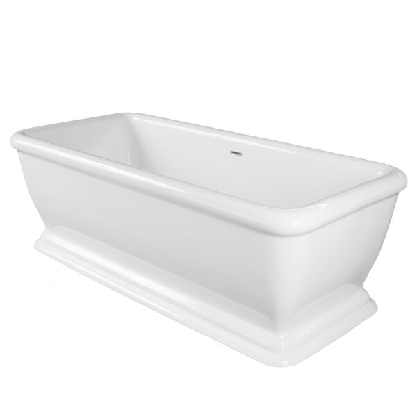 Florence 69 x 32 Freestanding Soaking Bathtub by Maykke