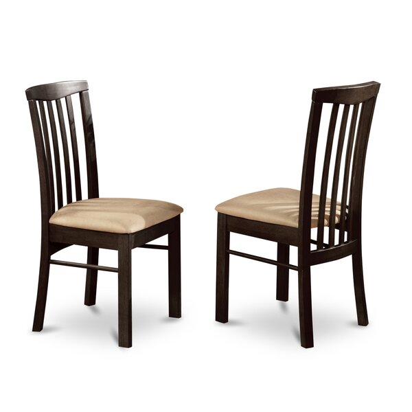 Bonenfant Side Chair in Faux Leather (Set of 2) by Darby Home Co