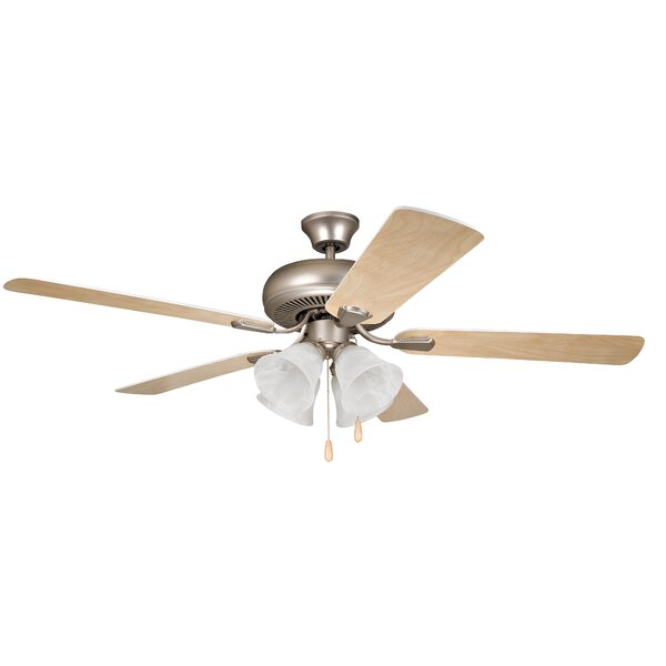 52 Jeffcoat 5-Blade Ceiling Fan by Alcott Hill