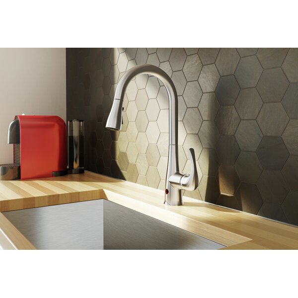 Essential Style Pull Down Touchless Single Handle Kitchen Faucet by Keeney Manufacturing Company