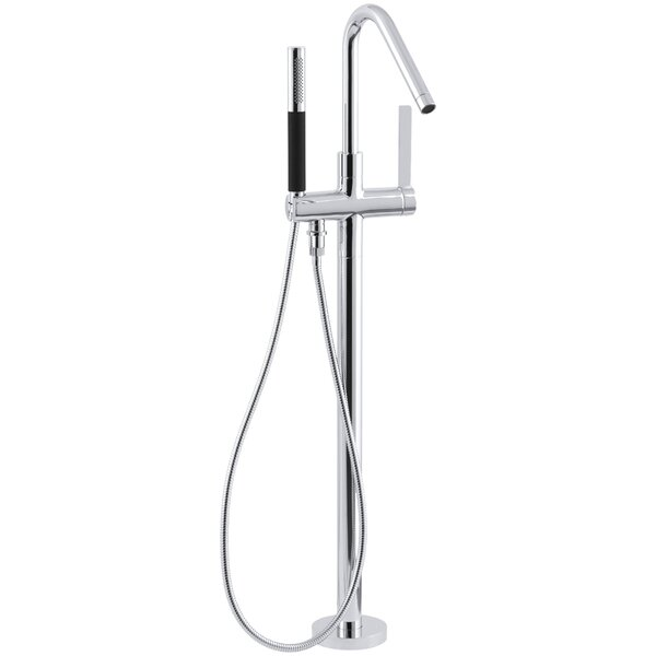 Stillness Floor-Mount Bath Filler with Handshower by Kohler