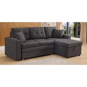 Reider Reversible Sleeper Sectional  sc 1 st  Wayfair : sectional sofa with storage and sleeper - Sectionals, Sofas & Couches