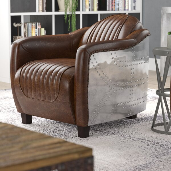 Annessia Solid Barrel Chair by 17 Stories